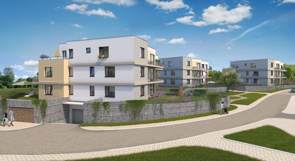 Na Beránku už rostou další nové byty