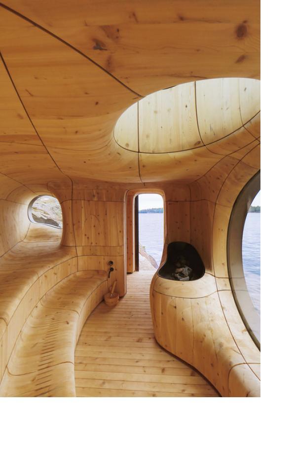 Sauna jako pozoruhodná součást moderní architektury i společenský fenomén