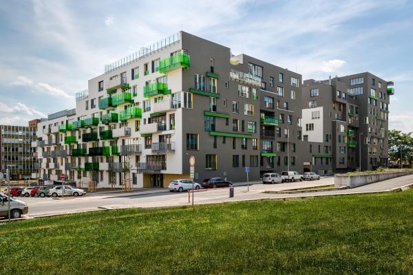 Rezidenční projekt 4Blok zkolaudován