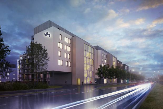 V Plzni začala vyrůstat Rezidence Mlýnská strouha