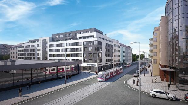 Nabídku nového bydlení v pražských Vysočanech rozšířila Rezidence U Radnice
