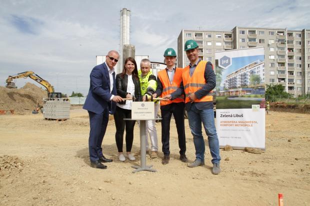 Základní kámen projektu Zelená Libuš položen