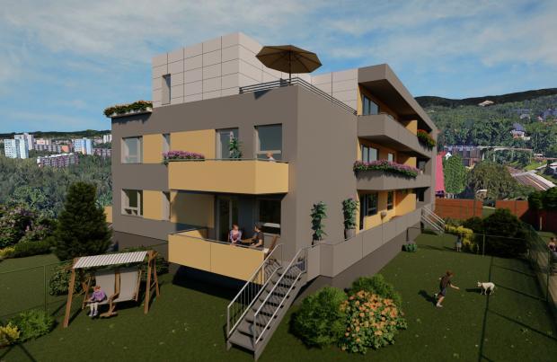Nové bydlení v Liberci nabízí komorní viladům v sousedství nového volnočasového parku