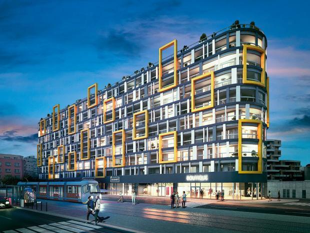 Nedaleko stanice metra Českomoravská roste Harfa Design Residence