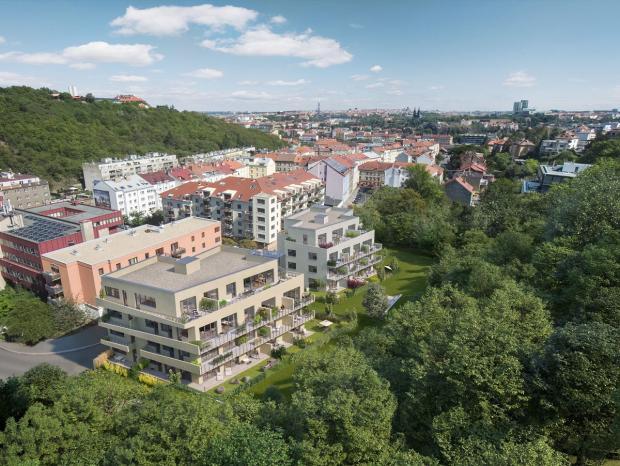Nové bydlení v blízkosti Pavího vrchu