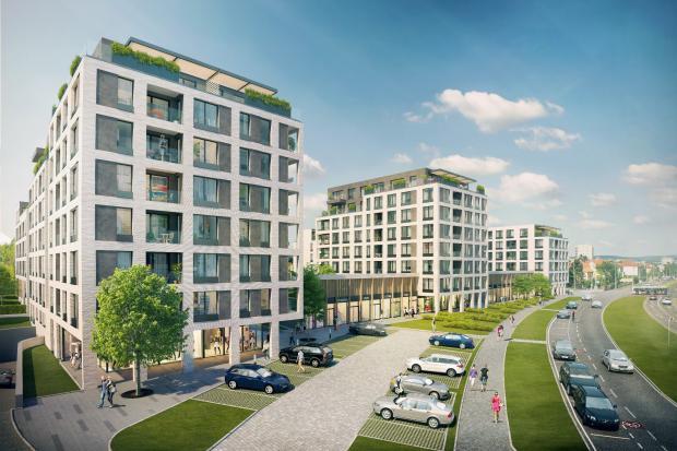 Pod taktovkou developera JRD vznikne poblíž pražské Vinohradské třídy Green Port Strašnice