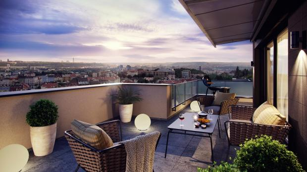 Skanska zahájila prodej bytů v Čertově vršku