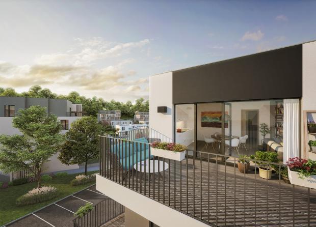 Crestyl spustil prodej bytů a řadových domů z druhé etapy projektu Berounská brána