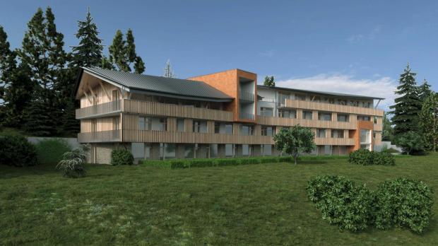 V Invest zahájil prodej apartmánů na šumavském Zadově