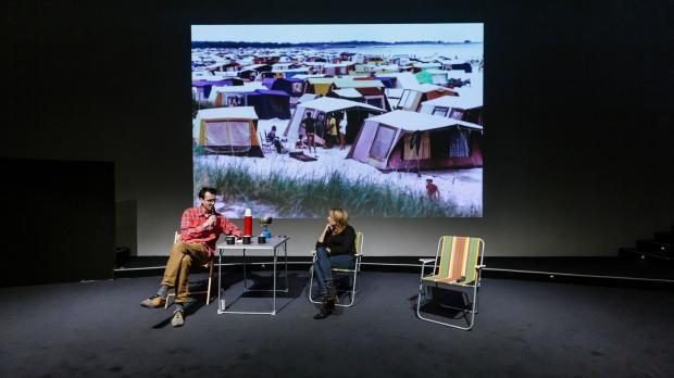 Camping s Ondřejem Cihlářem na téma moderní architektura a veřejný prostor