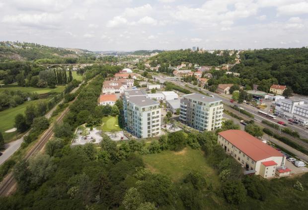 V pražských Hodkovičkách vyrůstá pod taktovkou společnosti Ekospol nový bytový projekt