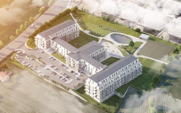 V Horoměřicích vyrůstá Residence Velvaria. Nabízí více než 230 bytů