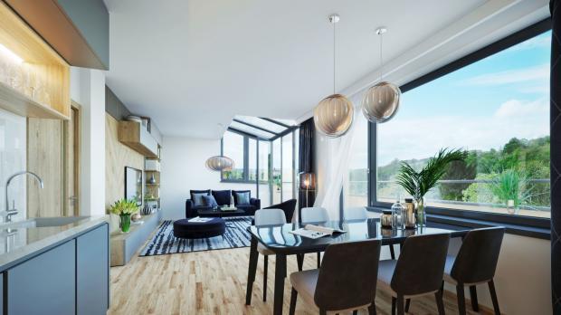 Geosan Development spouští prodej 12 bytů v komorním projektu Villa Střížkovská