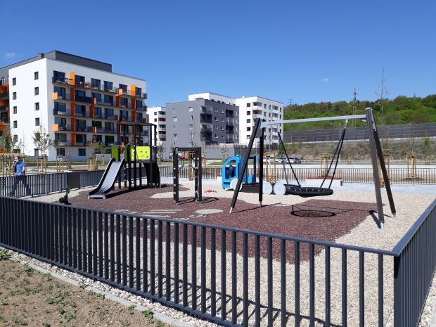 AFI Europe dokončila veřejný park v multifunkčním projektu AFI City