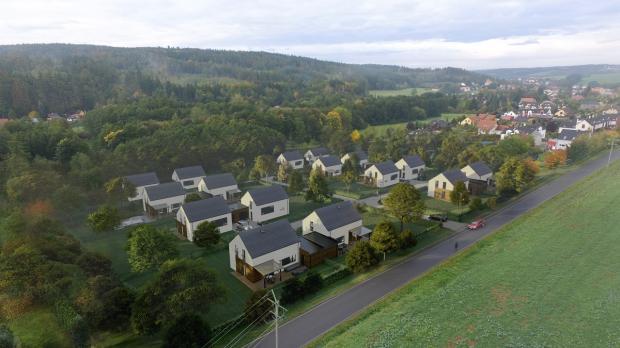 Společnost Bidli postaví v Libři u Prahy 16 nízkoenergetických rodinných domů