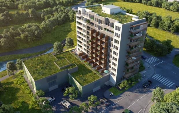 V Praze se ročně postaví jen dva mimořádně energeticky úsporné bytové domy. S výstavbou jednoho takového právě začal GARTAL