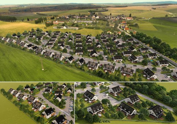 V Rodově u Hradce Králové byla zkolaudována první etapa výstavby nízkoenergetických domů