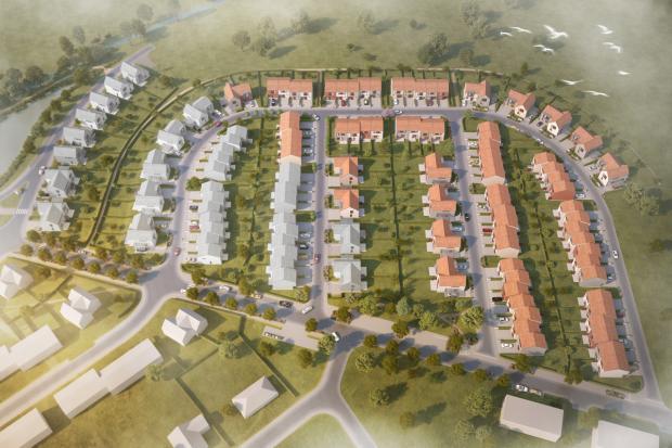 Projekt Na Malé Růži startuje prodej rodinných domů z páté etapy