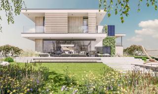 Luxent spustil prodej projektu Na Meandru s luxusními a ekologickými vilami