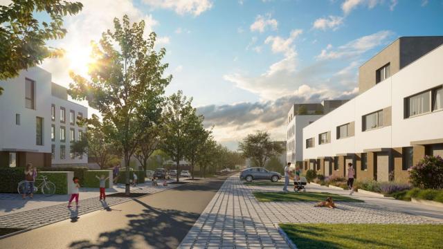 V Ďáblicích na severozápadě Prahy začala výstavba zahradní čtvrti Evergreen