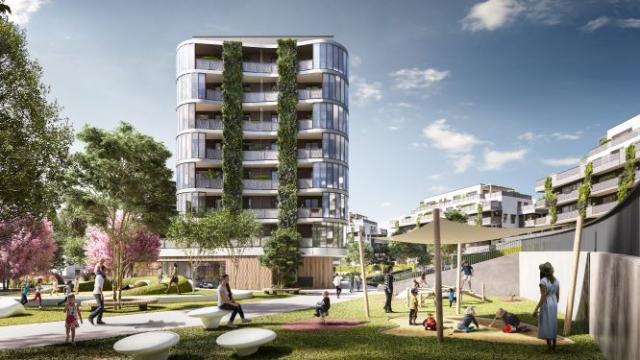 U metra B Stodůlky vzniká rezidenční projekt Arcus City